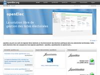 Fusion du site openelec.org et openmairie.org