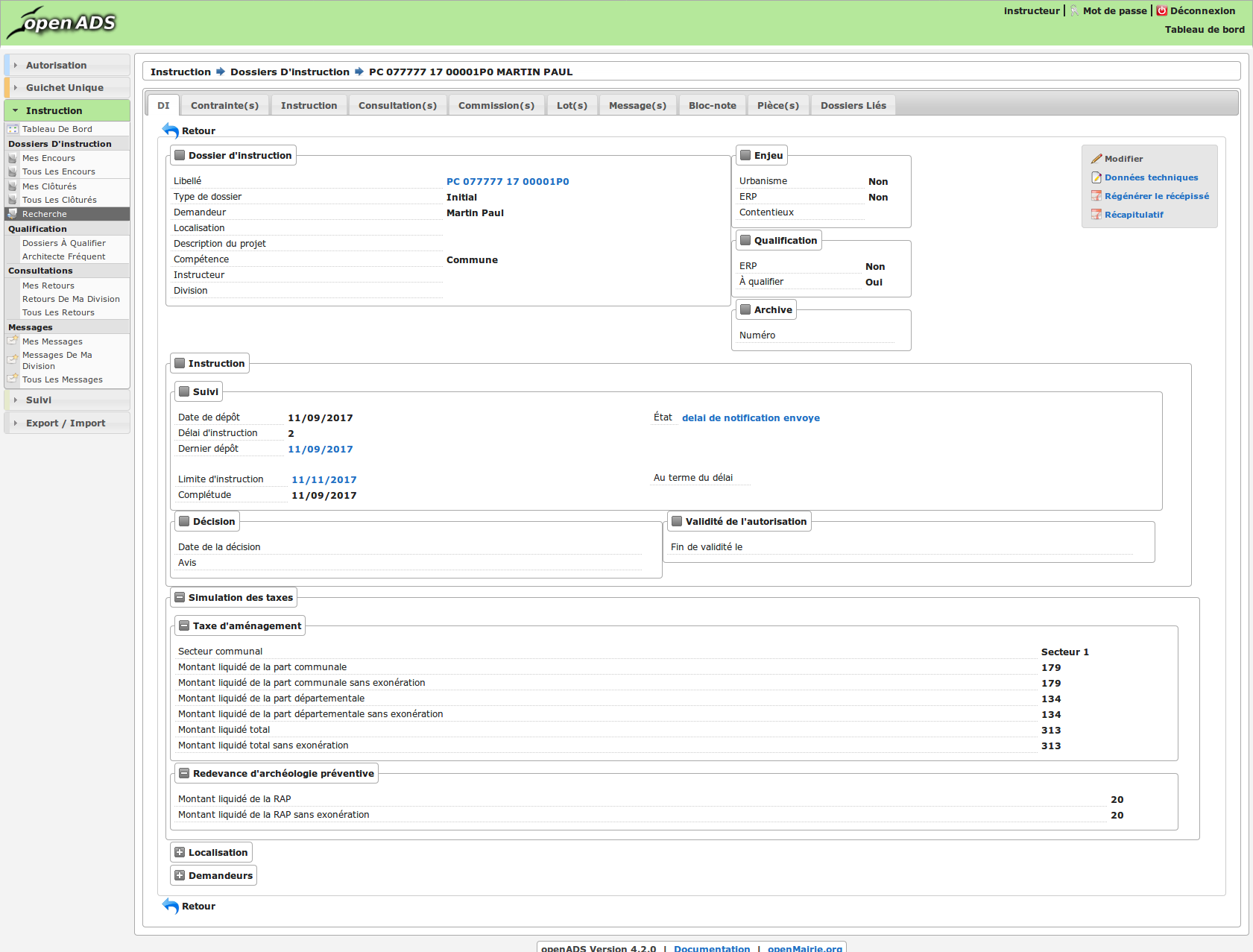 Publication de la version openADS 4.2.0