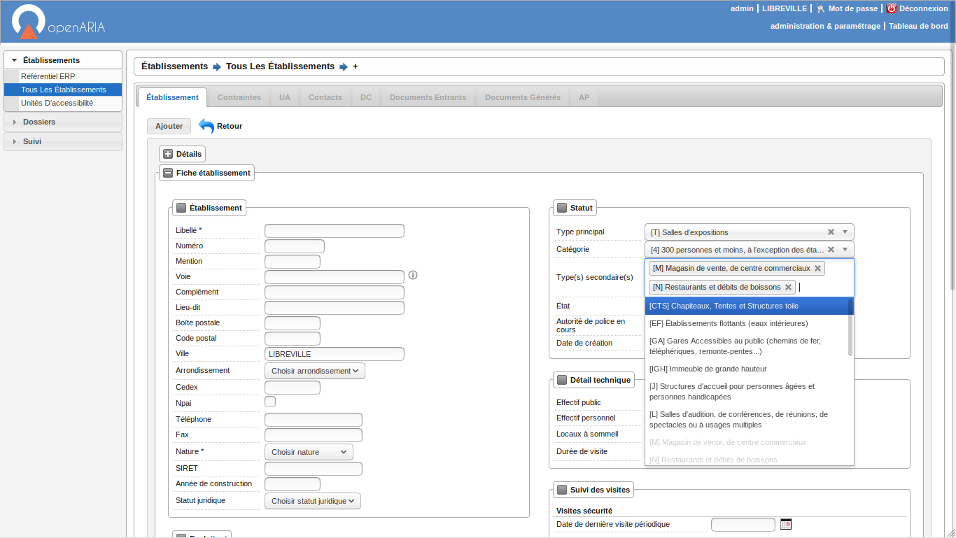 Publication de la version openARIA 1.5.0
