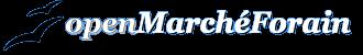 Logo openMarchéForain